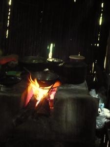 El fogón en casa de Matilde, Malacatoya
